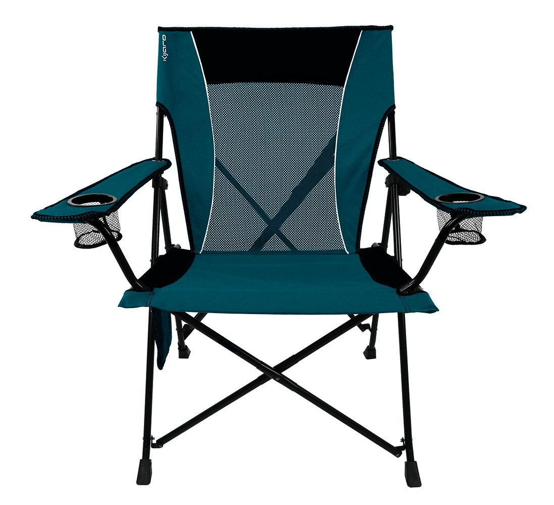 folding picnic chairs b q accent and ottomans 6 best camping to make every more comfy kijaro dual lock chair
