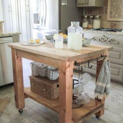 Make A Kitchen Island Weight Scale 25 Gorgeous Diy Islands To Your Run Smoothly The Shanty Chic