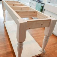 Build Kitchen Island Trailer 25 Gorgeous Diy Islands To Make Your Run Smoothly Furniture Style