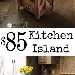 Cheap Kitchen Island Ideas Color For Cabinets 25 Gorgeous Diy Islands To Make Your Run Smoothly The 85
