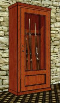 21 Interesting Gun Cabinet and Rack Plans to Securely ...