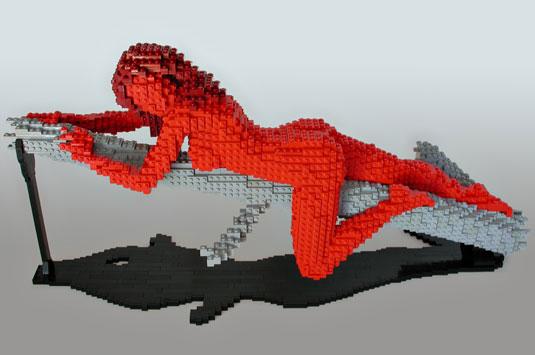 Lego Art: Bram Lambrecht