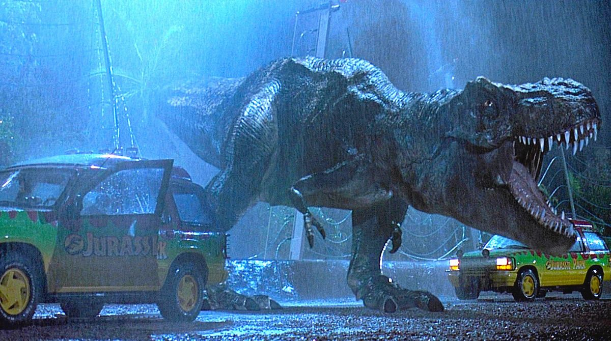 Image result for t rex jurassic park