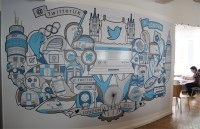 21 incredibly cool design office murals | Creative Bloq