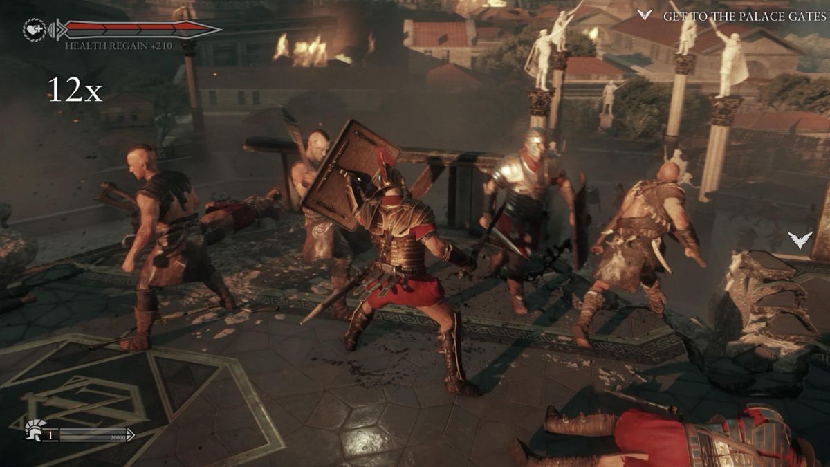 1440p Wallpaper Pubg Ryse Son Of Rome Pc Gameplay Video Max Settings At