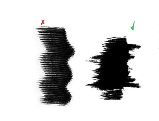 Free Photoshop brushes: dry brushes