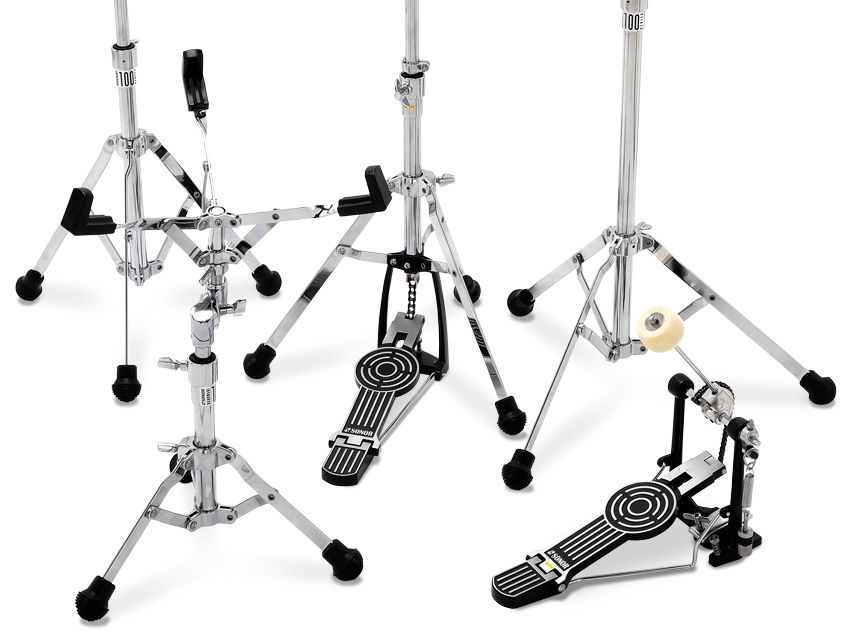 Sonor 100, 200 and 400 series hardware sets review