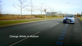 Wireless electric car charging