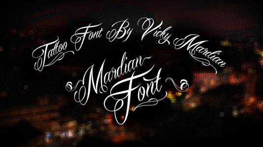 2a7717b960181e7a91fd225b7c08e353 51 free tattoo fonts for your body art Random