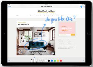 Vous pouvez baliser avec le Crayon Apple à partir de PDFs et images