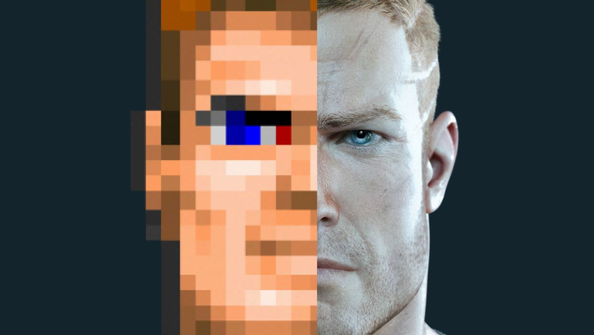 The visual evolution of Wolfenstein  From sprites to