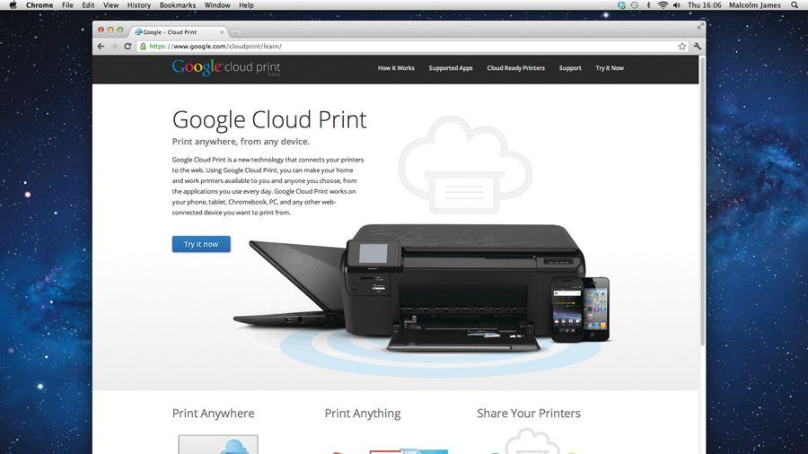 How to use Google Cloud Print  TechRadar
