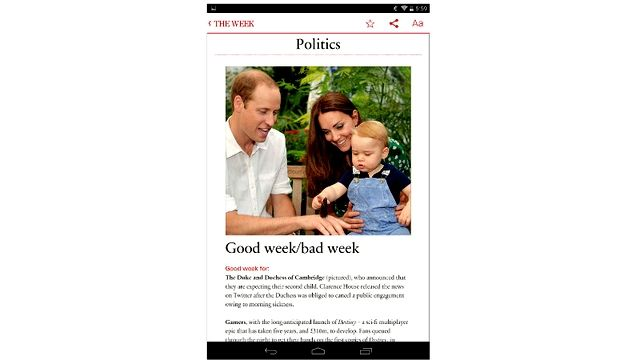 Keep up to date with the news easily via The Week   ITProPortal