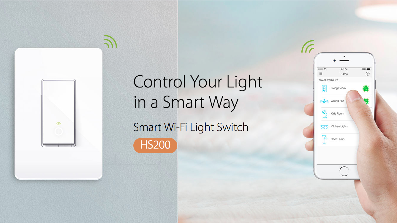TP-Link HS200 Smart Wi-Fi Light Switch | Review Junkies