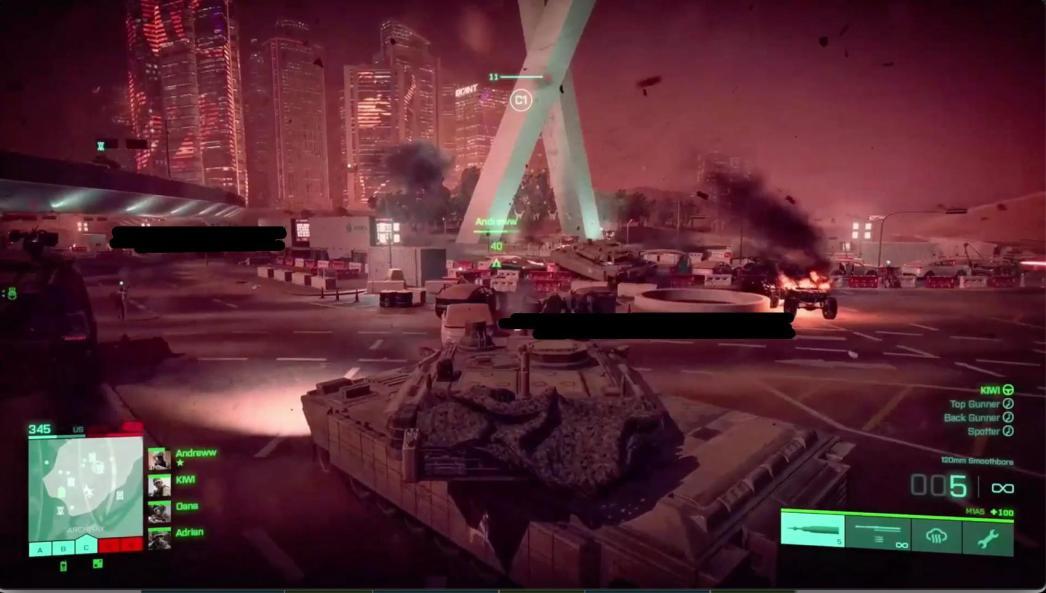 Battlefield 6 leaked gameplay screenshot