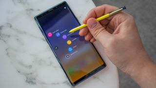Both phones have a stylus but the Note 9's has more skills