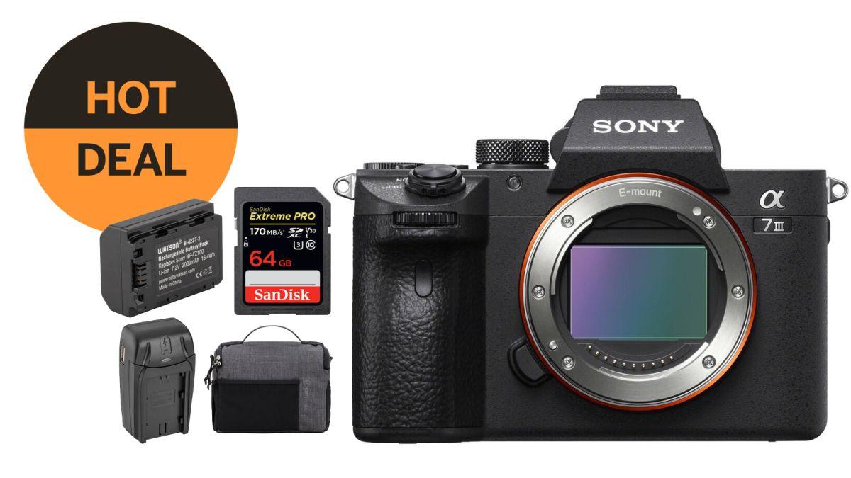 Tech :  Sony A7 III ne coûte que 1698 $ avec batterie, carte SD et sac gratuits!  , avis