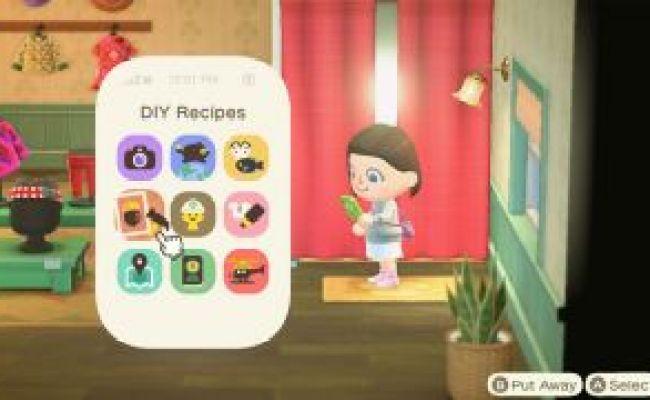 Every Animal Crossing New Horizons Crafting Recipe We Ve