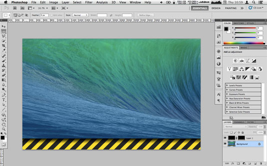 Create a repeating pattern in Photoshop