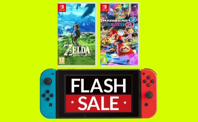 This Is The Best Cyber Monday Nintendo Switch Deal And It