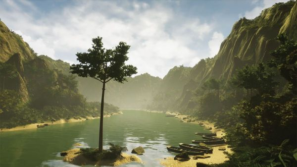 create 3d landscape in 6 simple