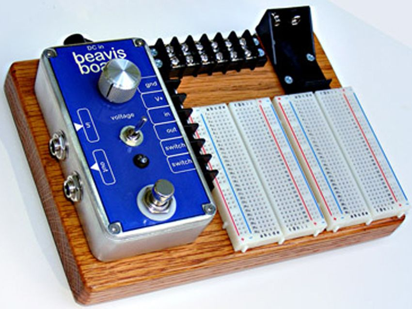 Build Your Own Stompbox Circuit With Beavis Board
