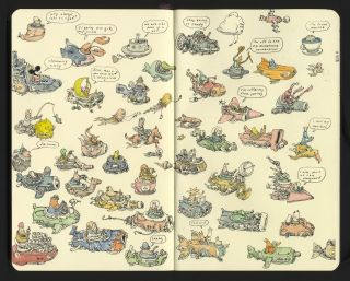 Mattias Adolfsson lets us inside the pages of his ever-impressive notebooks