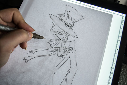 How to draw manga - sleek lines