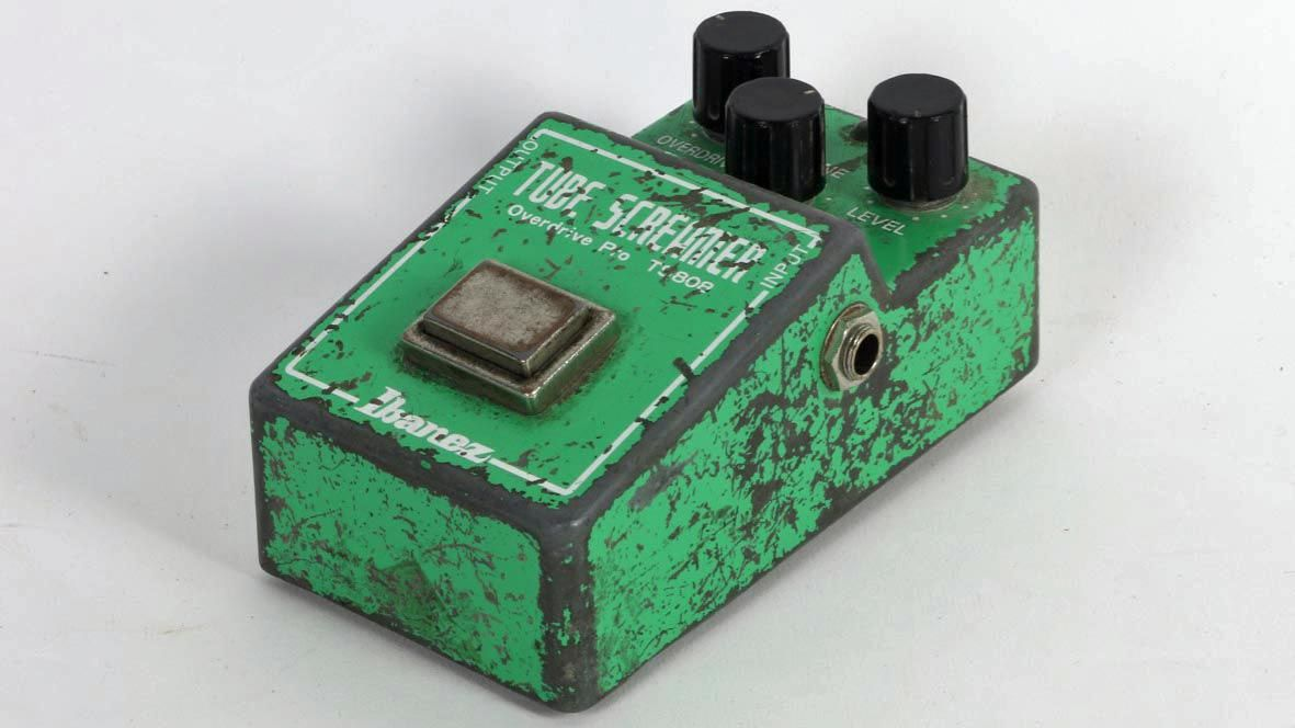 Stevie Ray Vaughan S Ibanez Tube Screamer Goes Up For Sale