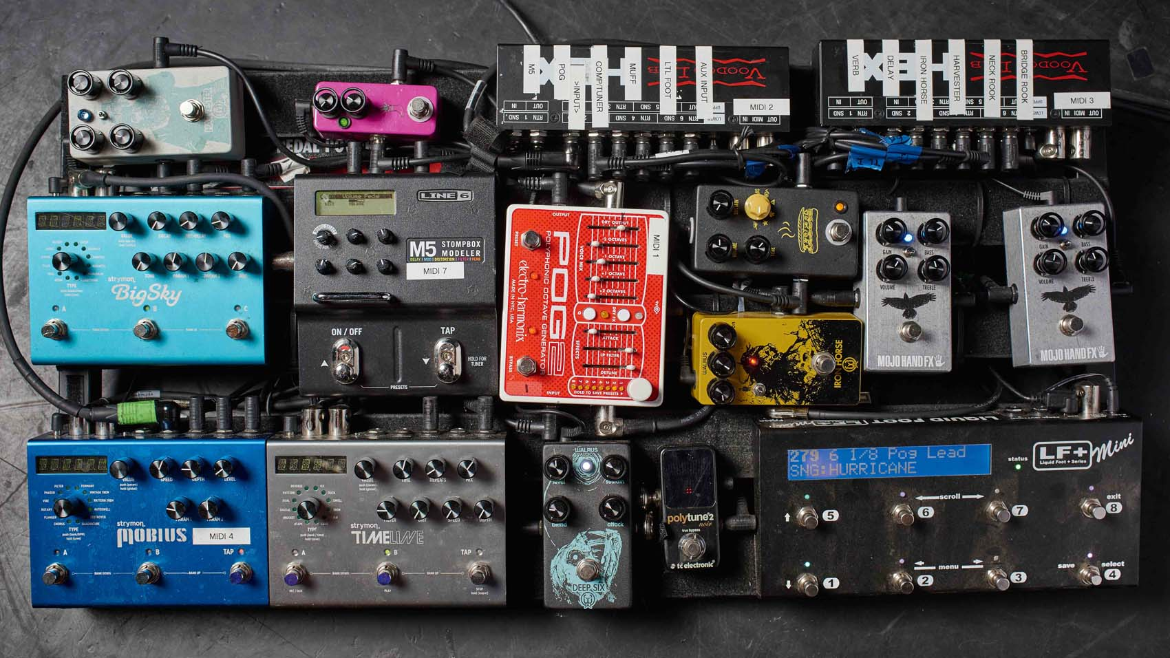 hight resolution of pedalboard wiring diagram
