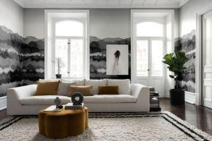 living grey rooms dark gray scheme elegant walls gorgeous decorating couch interior midnatt inspire monochrome furniture neutral sandberg kitchen bold