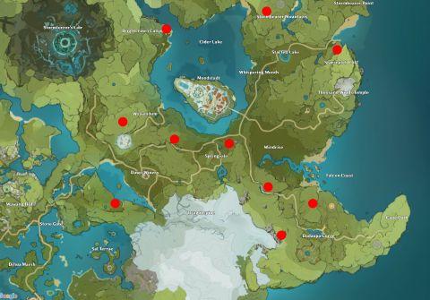 The next stop is nazuchi beach, east of yashiori island. Genshin Impact Map Inazuma First Look Pc Gamer