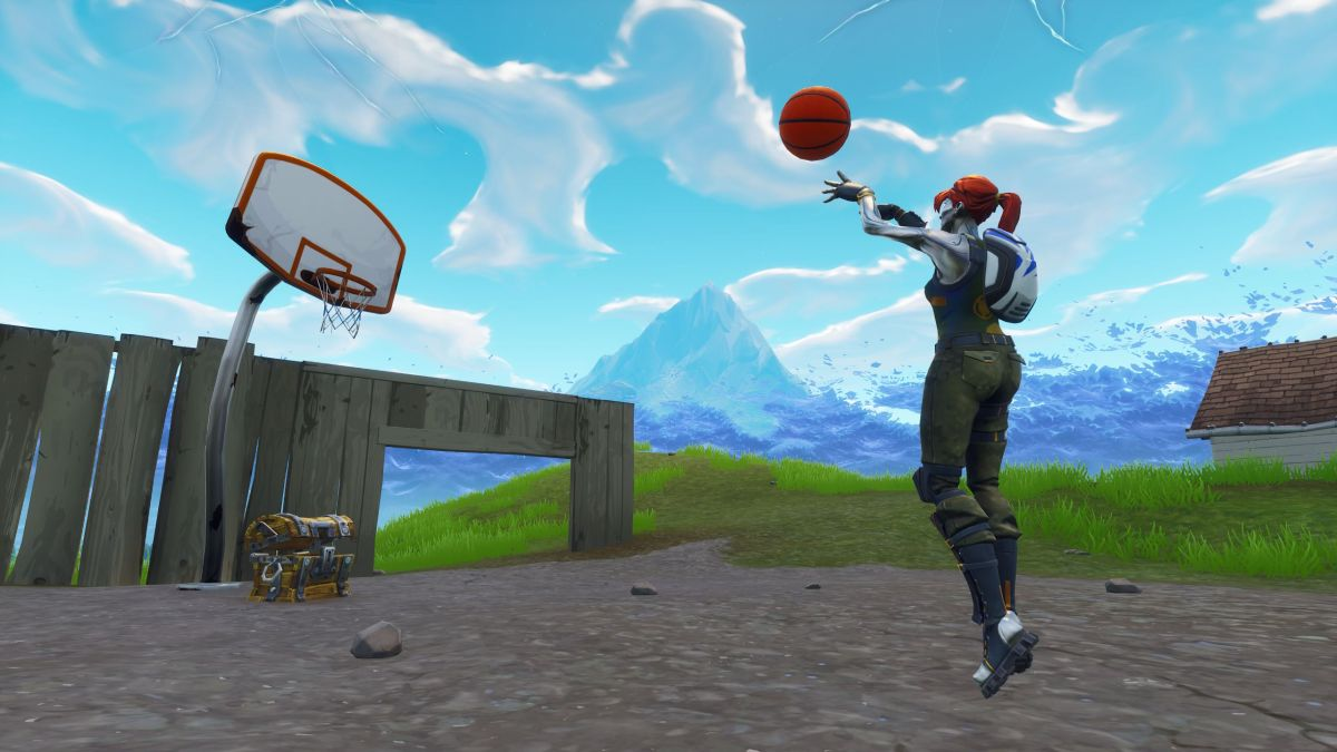 Fortnite All 9 Basketball Hoop Locations PC Gamer