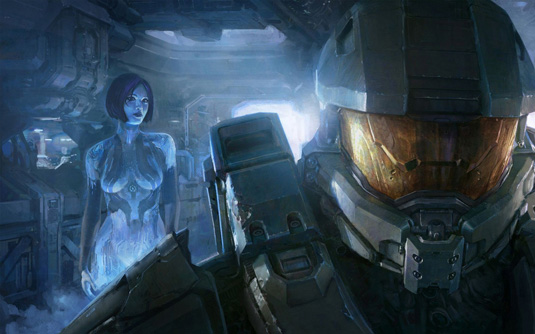 Best character designs in games: Master Chief and Cortana