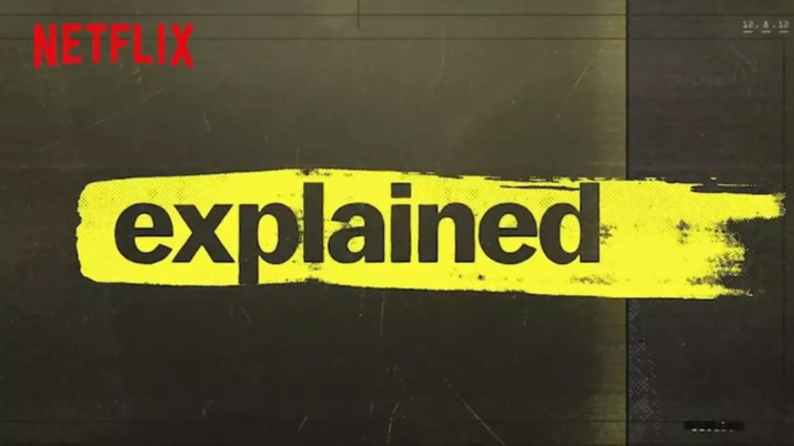 A promo shot for the Netflix show Explained