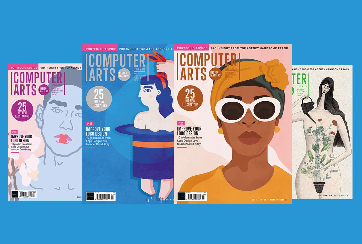 Computer Arts issue 276 split-run cover