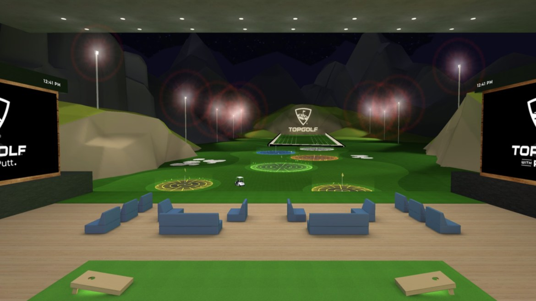 best Oculus quest 2 games: Topgolf VR