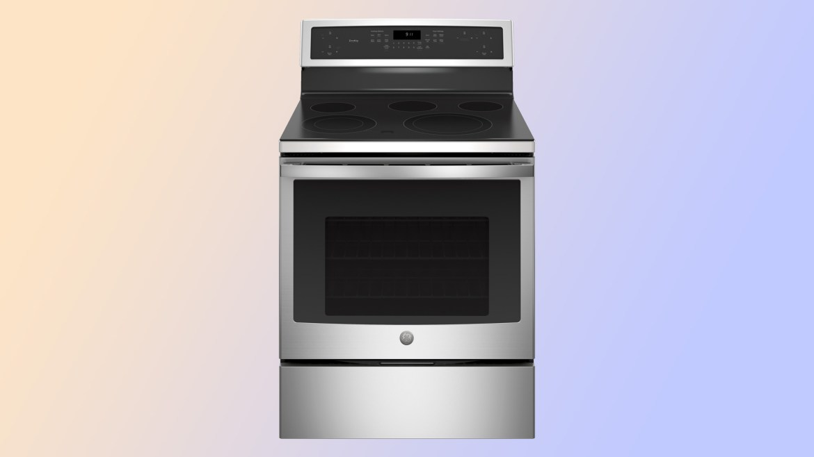 best electric ranges: GE Profile PB911SJSS