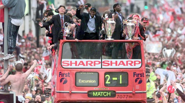 Why Manchester United's 1998/99 treble winners are still easily the best  team in English club history | FourFourTwo