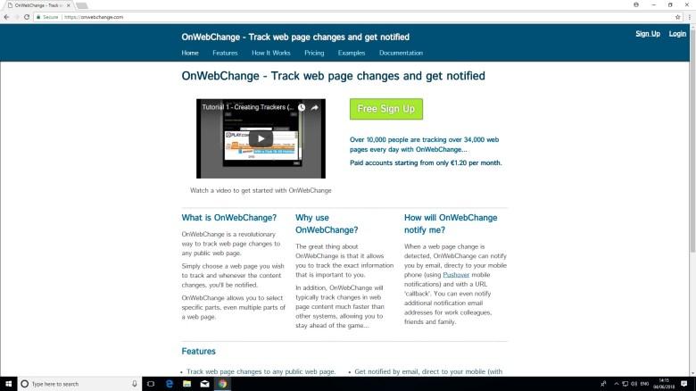 OnWebChange