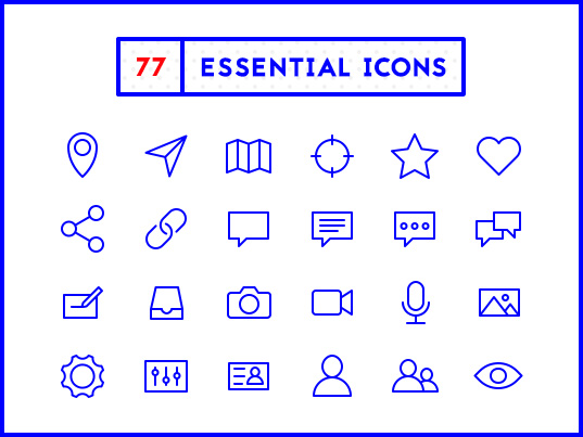 Download Download these 77 essential icons for free | Creative Bloq