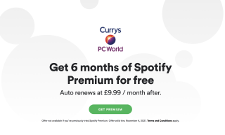 Get 6 months of Spotify Premium for free when you buy