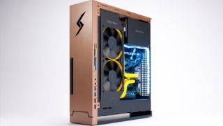 living room gaming pc tropical in spain we built the large pixel collider jr an insane for