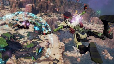 Titanfall 2 ships flying above an Apex Legends map lead to a slate of fan theories