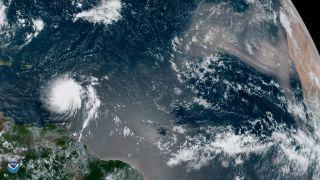tropical storm dorian closes