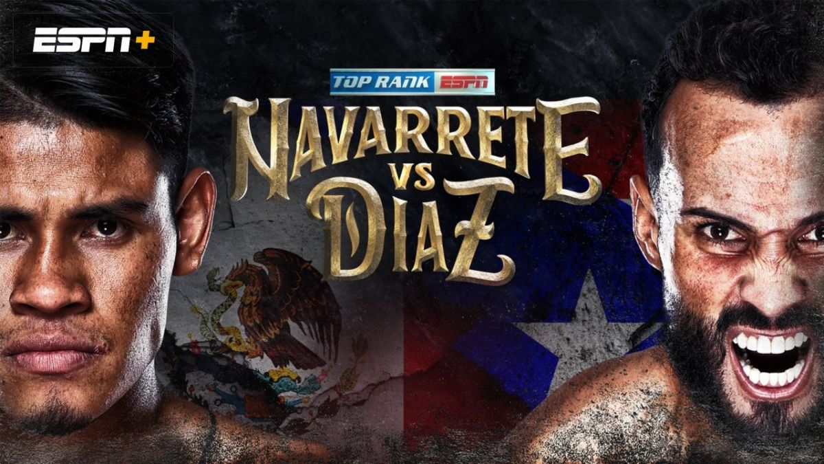 Navarrete vs Diaz live stream: how to watch Featherweight title boxing online from anywhere