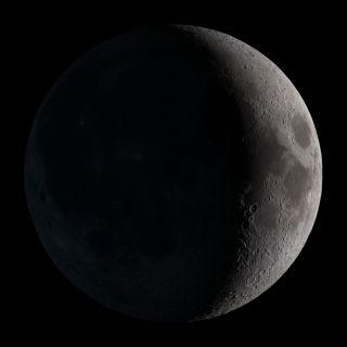 rare black moon rises