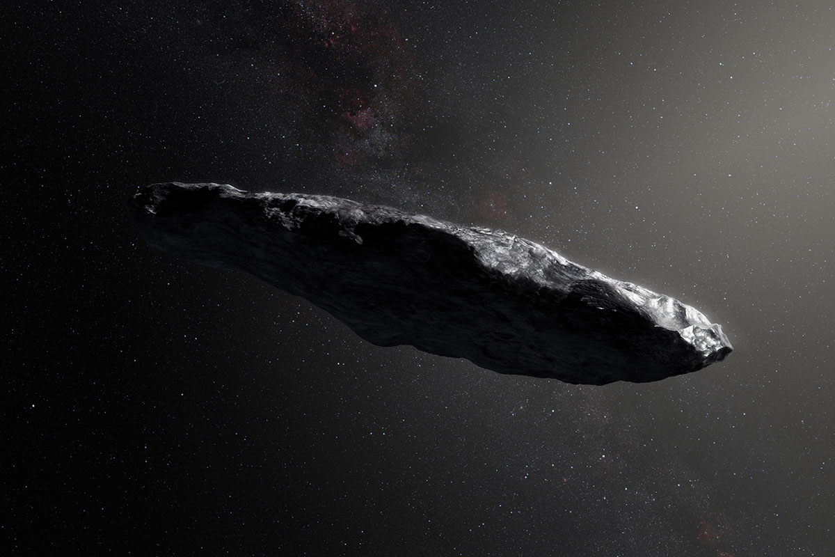 hight resolution of  oumuamua the solar system s first interstellar visitor in photos space
