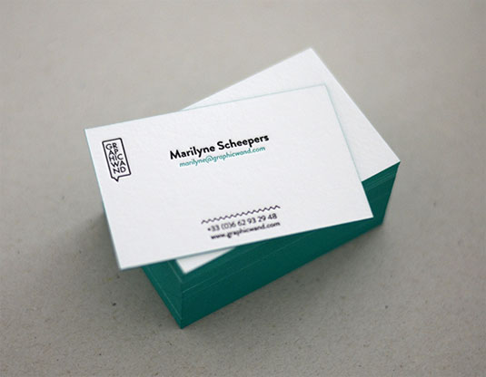 54 inspiring examples of letterpress business cards rum raisin examples of letterpress business cards colourmoves