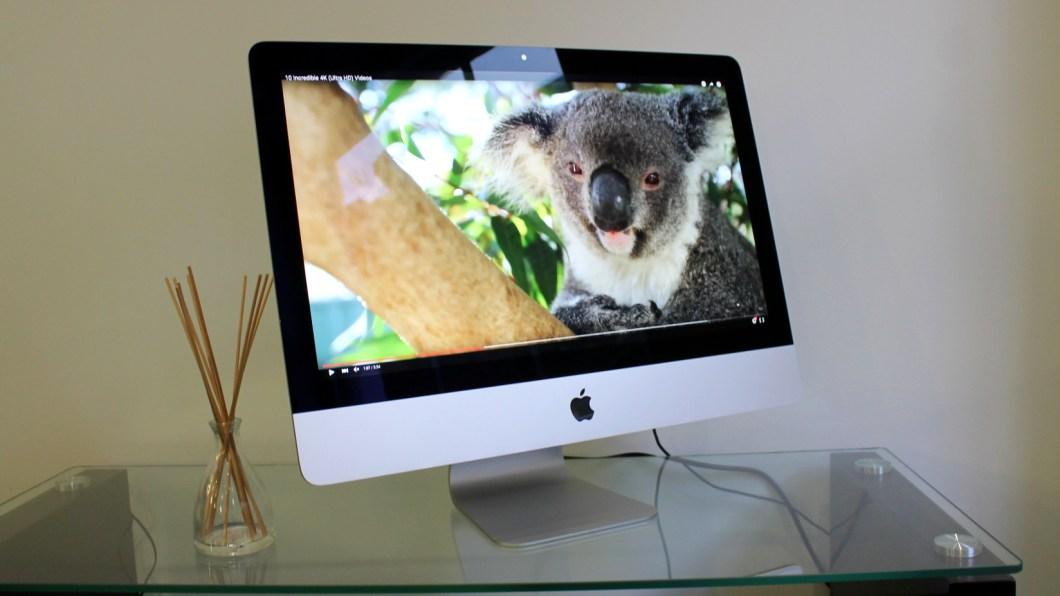 Apple iMac with 4K Retina display